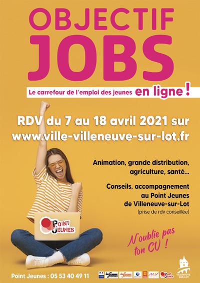 Objectif Jobs le carrefour de l'emploi des jeunes en ligne