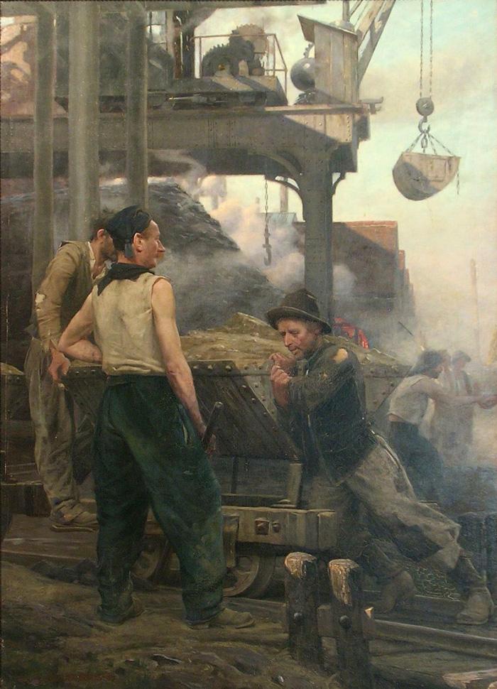 le chevalet de mine en Lorraine